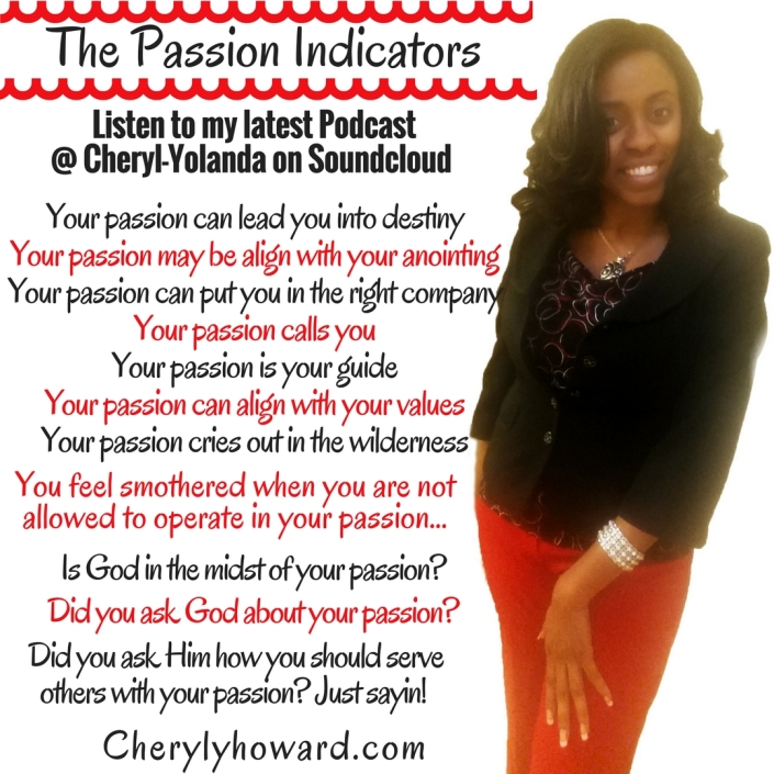 Your Passion Indicators