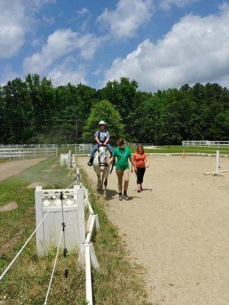 Ryan on horse