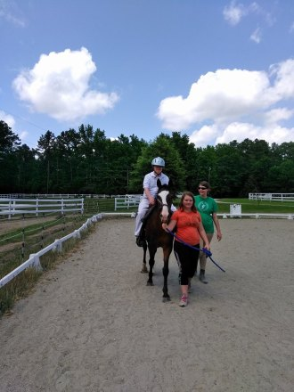 Tim on horse
