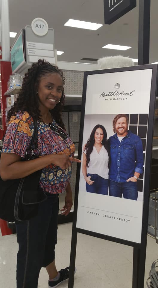 me in Target Joanna Gaines