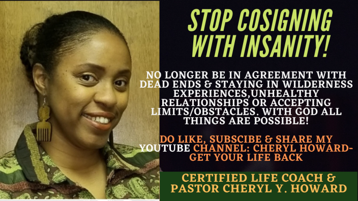 Stop Cosigning with Insanity