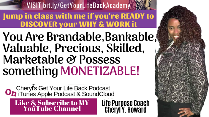 You R Brandable Bankable Marketable