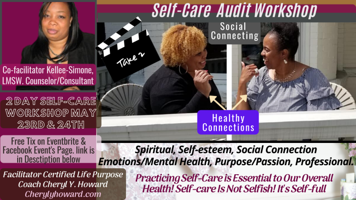 Self Care Audit Workshop weekend