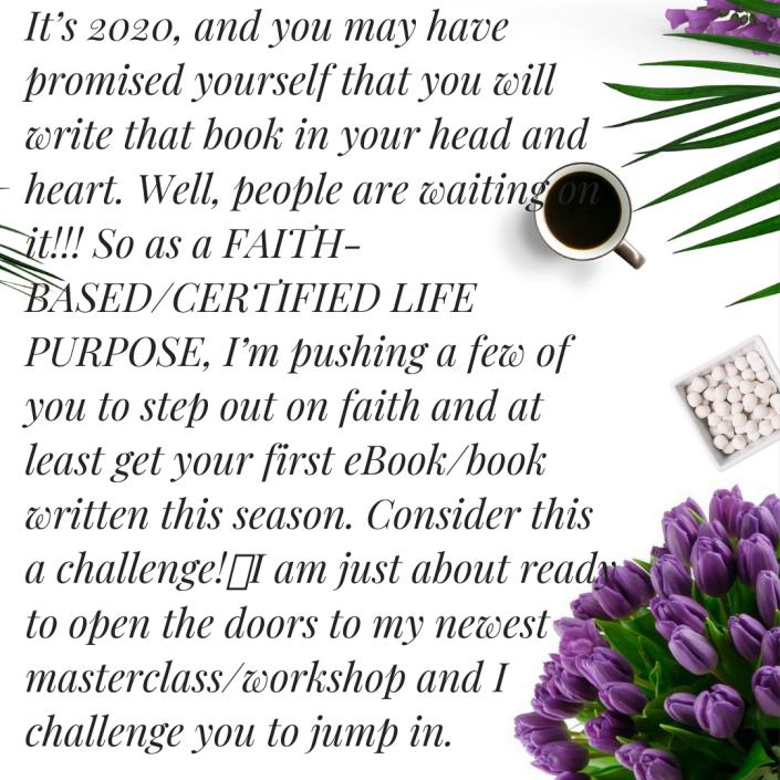 Write An EBook Blog post one